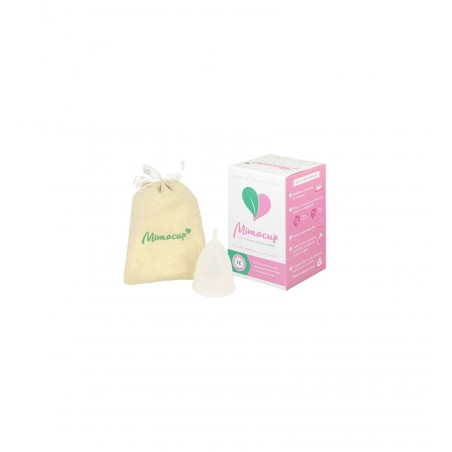MimaCup Copa Menstrual Blanca L